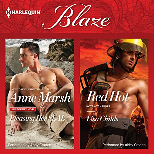 Pleasing Her SEAL & Red Hot audiobook cover art