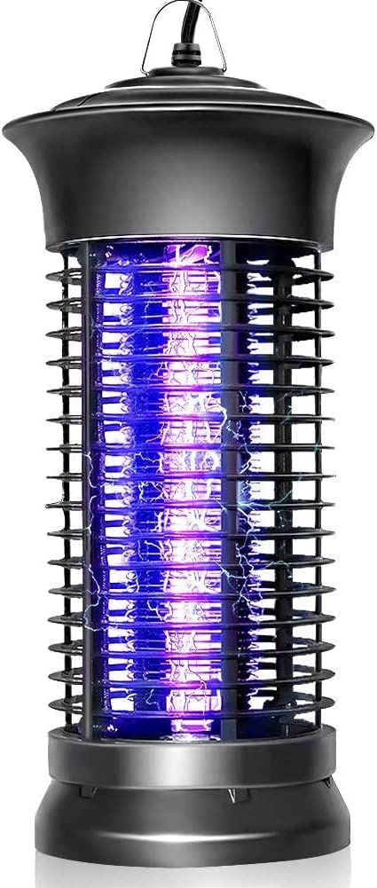 Bug Zapper Strongest Heaviest Duty Mosquito Zapper, Bug Zapper Outdoor, Bug Zapper Indoor, Mosquito Trap, Fly Zapper, Mosquito Killer Safe & Non-Toxic Silent & Effortless Operation for Home and Garden : Garden & Outdoor