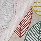 SCHÖNER LEBEN. Tischdecke Canyon Blätter beige braun grün rot Verschiedene Größen, Tischdecken Größe:130x130cm - 6