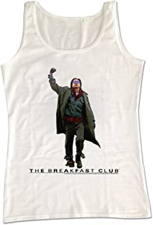 2Bhip Breakfast Club 1980's Teen Movie Judd Nelson Bender Fist Pump Adult Tank Top