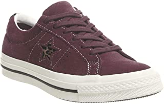 b06e267d6ce47 Converse Unisex Adults  Lifestyle One Star Ox Leather Fitness Shoes