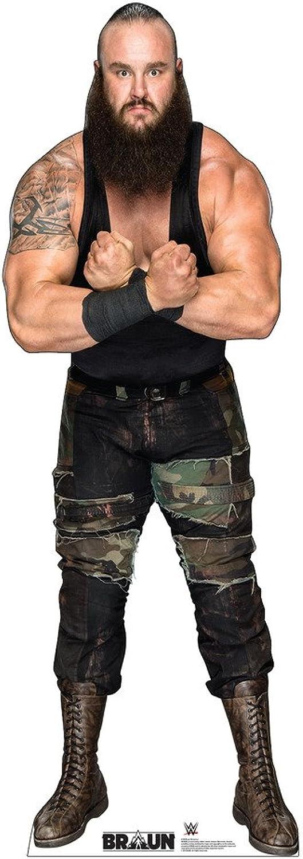 Advanced Graphics brown Strowman - WWE Life Size Cardboard Cutout Standup