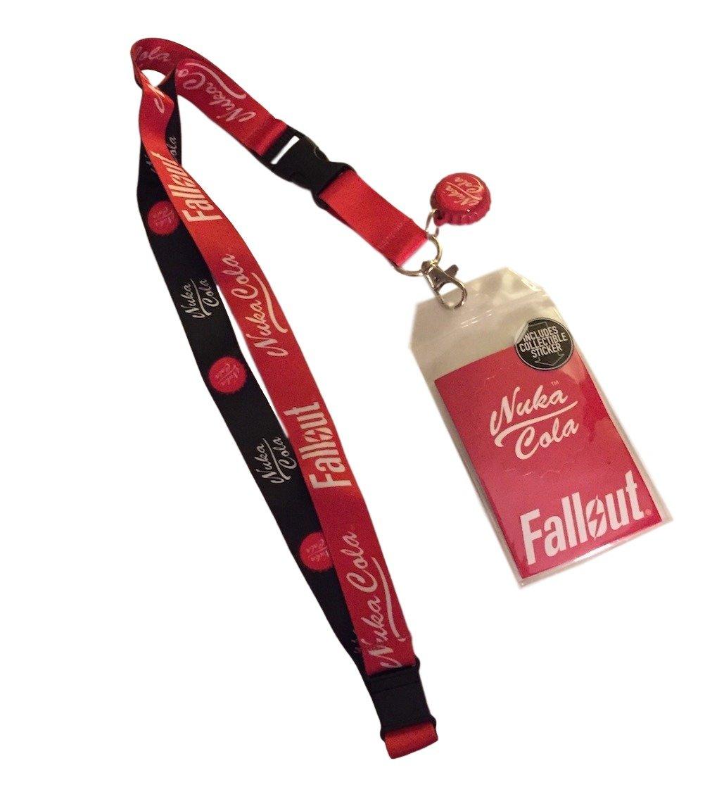 Fallout Lanyard Keychain Holder Sticker
