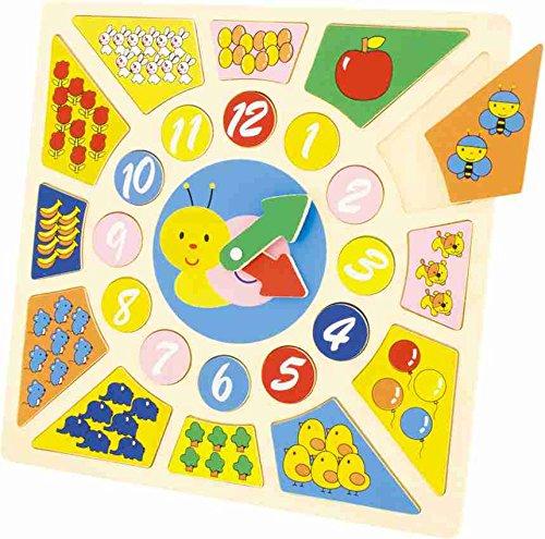 Ulysse - 3813 - Puzzle Horloge - 24 Pièces