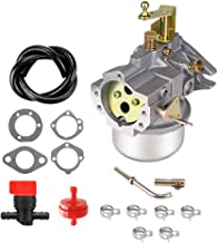 Cnfaner Carburetor for Kohler K321 K341 Cast Iron 14hp 16hp John Deer Tractor Cast Iron Engine Carb with k341 Gasket kit