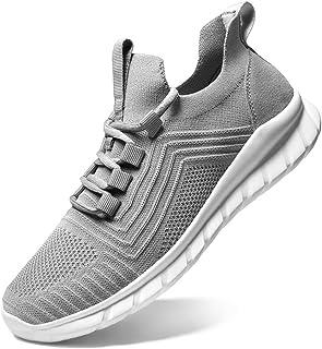 LK LEKUNI Chaussures de Sport Running Basket Homme Femme Course Trail Entraînement Fitness Tennis Respirantes