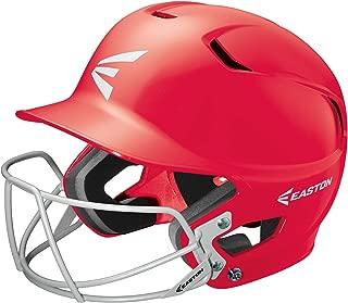 EASTON Z5 Junior Batting Helmet with Baseball Softball Mask | 2019 | Unisex | Dual Density Shock Absorption Foam | High Impact Resistant ABS Shell | Moisture Wicking BioDRI liner