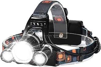 XINGTAO Hoofd Torch LED Koplamp Oplaadbare T6 COB 4 Modes Koplamp Lampen 6000 Lumen Zaklamp niet Zoomable Waterdicht voor ...