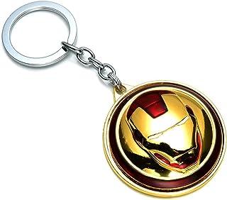 PA Multicolor Rotatable Iron Man Marvel Avengers Superhero Character Key Case