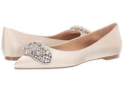 Badgley Mischka Octavia (Ivory) High Heels