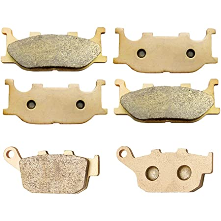SYUU Motorcycle Replacement Front Rear Brake Pads Brakes for Yamaha MT-07 MT-09 MT-10 2014 2015 2016 2017 2018 FZ1 Fazer Naked 2006-2016 FZ-07 FZ-10 FA252F FA174R