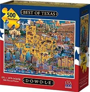 Dowdle Jigsaw Puzzle - Best of Texas - 500 Piece
