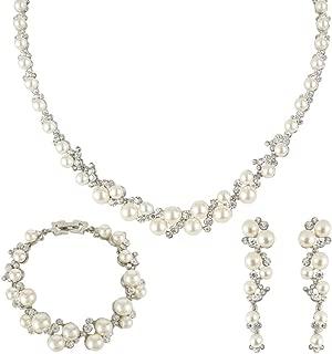 Best bridal necklace earring and bracelet sets Reviews