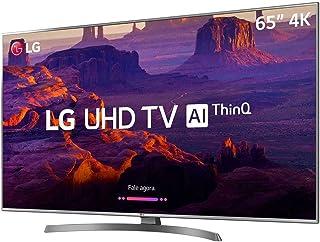 "Smart TV 4K 65"", Painel IPS 4K UHD, ThinQ AI, webOS 4.0, Design Ultra Slim, DTS Virtual X, Sound Sync, HDMI USB, LG, 65UK6530PSF"