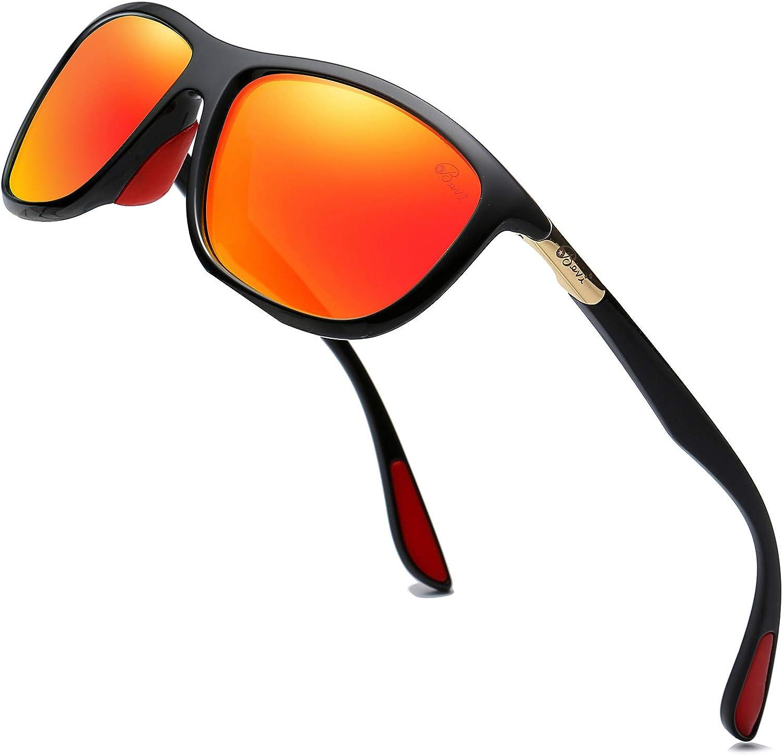 Bevi Christmas Gift Polarized Sunglasses Fashion Wayfarer Design for Men Women