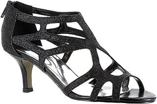 Womens Flattery Dress Heels & Pumps Shoes, Black, 7.5