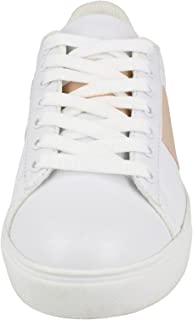 Spot On Womens/Ladies Lace Up Cemented Strip Trainers