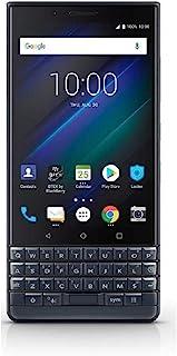 BlackBerry KEY2 LE (Lite) Dual-SIM (64GB, BBE100-4, QWERTY Keypad) Factory Unlocked 4G Smartphone (Slate/Space Blue) - Int...