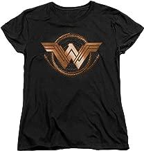 Wonder Woman Lasso of Truth Logo Women's T Shirt & Stickers