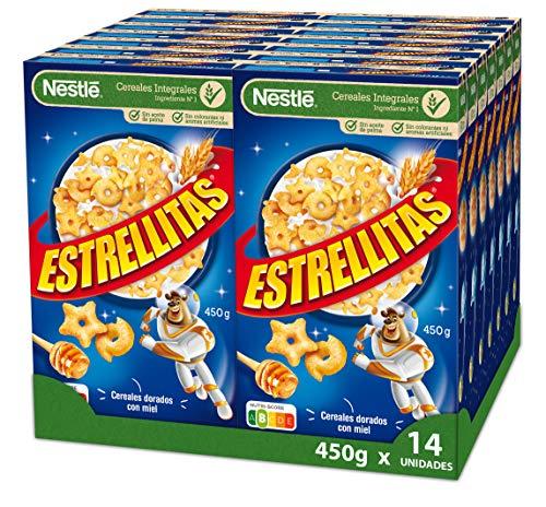 Cereales Nestlé Estrellitas - 14 paquetes de 450 g