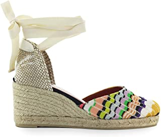 CASTAÑER Womens Shoes by Missoni Carina Wedge Wave Multicolor Espadrille SS 2019
