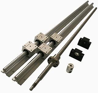 Joomen CNC SBR16 support rail RM1204 ballscrew 400mm Linear Motion Kit