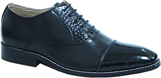 ASM Handmade Black Leather Oxford Shoes with Handmade Neolite Sole for Men.