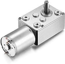 IIVVERR JSX950-370 DC 12V 11RPM 6mm Shaft High Torque Turbine Worm Gear Box Reduction Motor (JSX950-370 DC 12V 11RPM 6mm Eje alto Turbina de tornillo sin fin Motor de reducción de la caja de engranaje