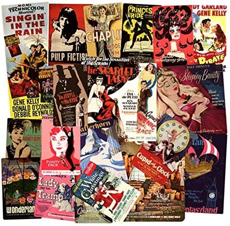Poster Movie Vintage Vinyl Stickers for Laptop Skateboard Bike Luggage Party Favors Graffiti product image