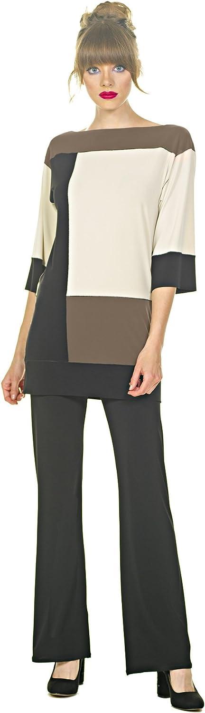Eva Varro Women's 3/4 Sl London Girl Tunic