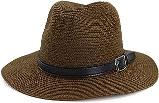 HaiNing Zheng Women Men Adjustable Travel Summer Sun Starw Hat Foldable Brim Trilby Bowler 2019