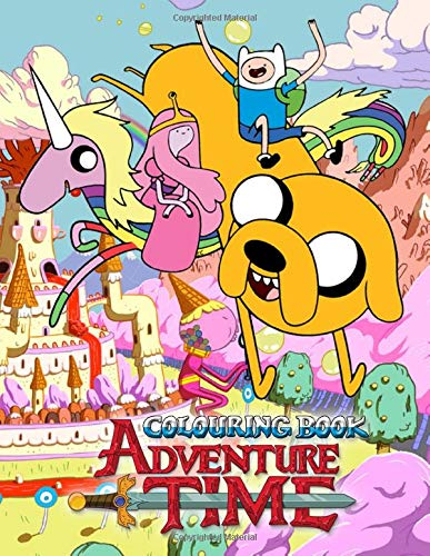 Adventure Time Colouring Book: 50 Colouring Pages of your favourite characters from The Land of OOO