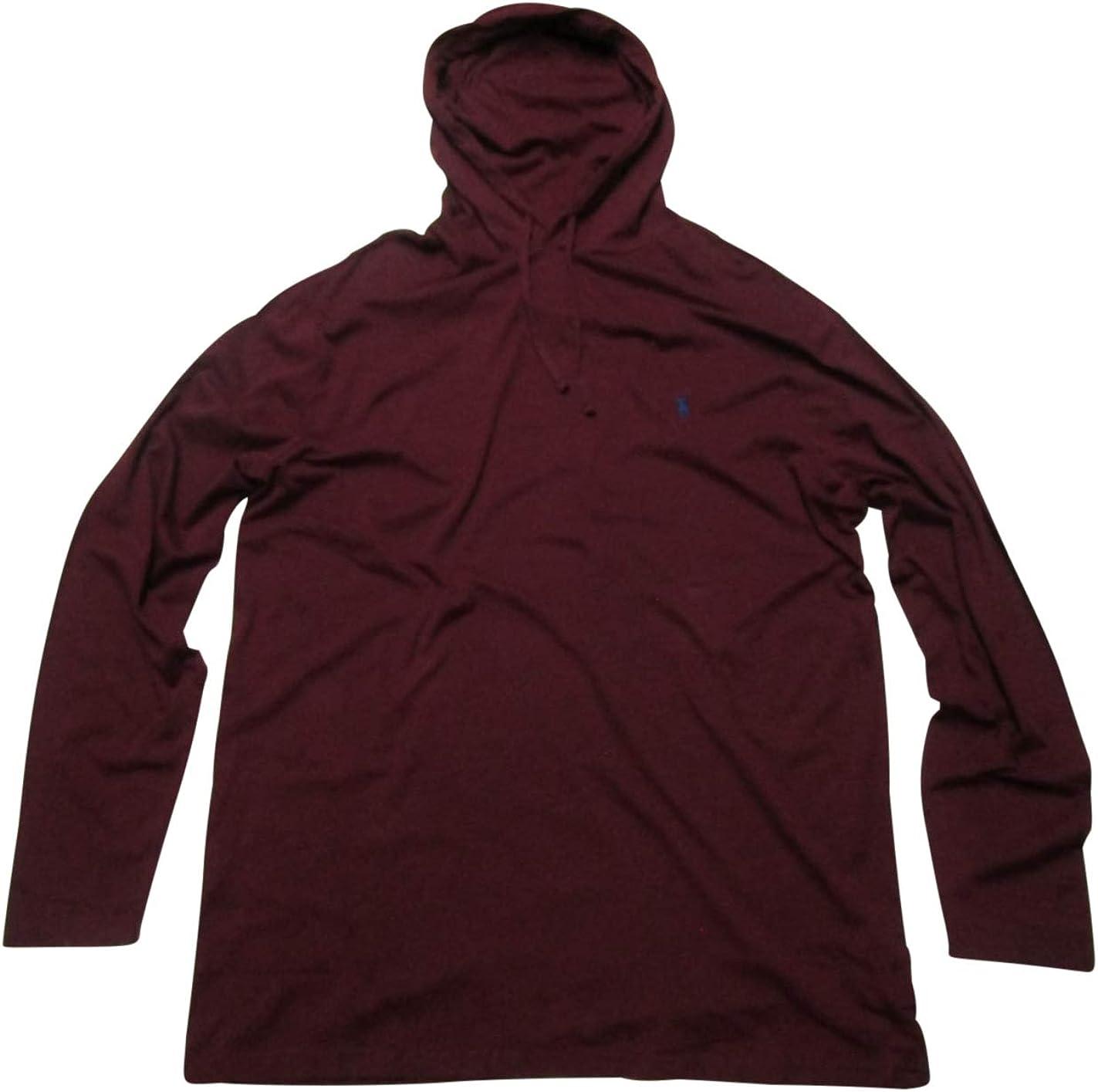 Ralph Lauren Polo Men's Big and Tall Jersey Knit T-Shirt Hoodie