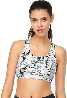 OneChange Women's Sports Bra for Running The Gym Wire-Free Bra Yoga Push-ups Shockproof Female Fitness Seamless Underwear ...