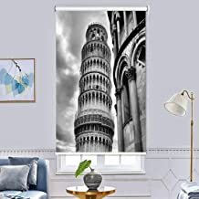 3D Printing Roller Blind Blackout Curtains - Room Decor Insulated Room Darkening Curtains, Printed Pattern Design Bedroom ...