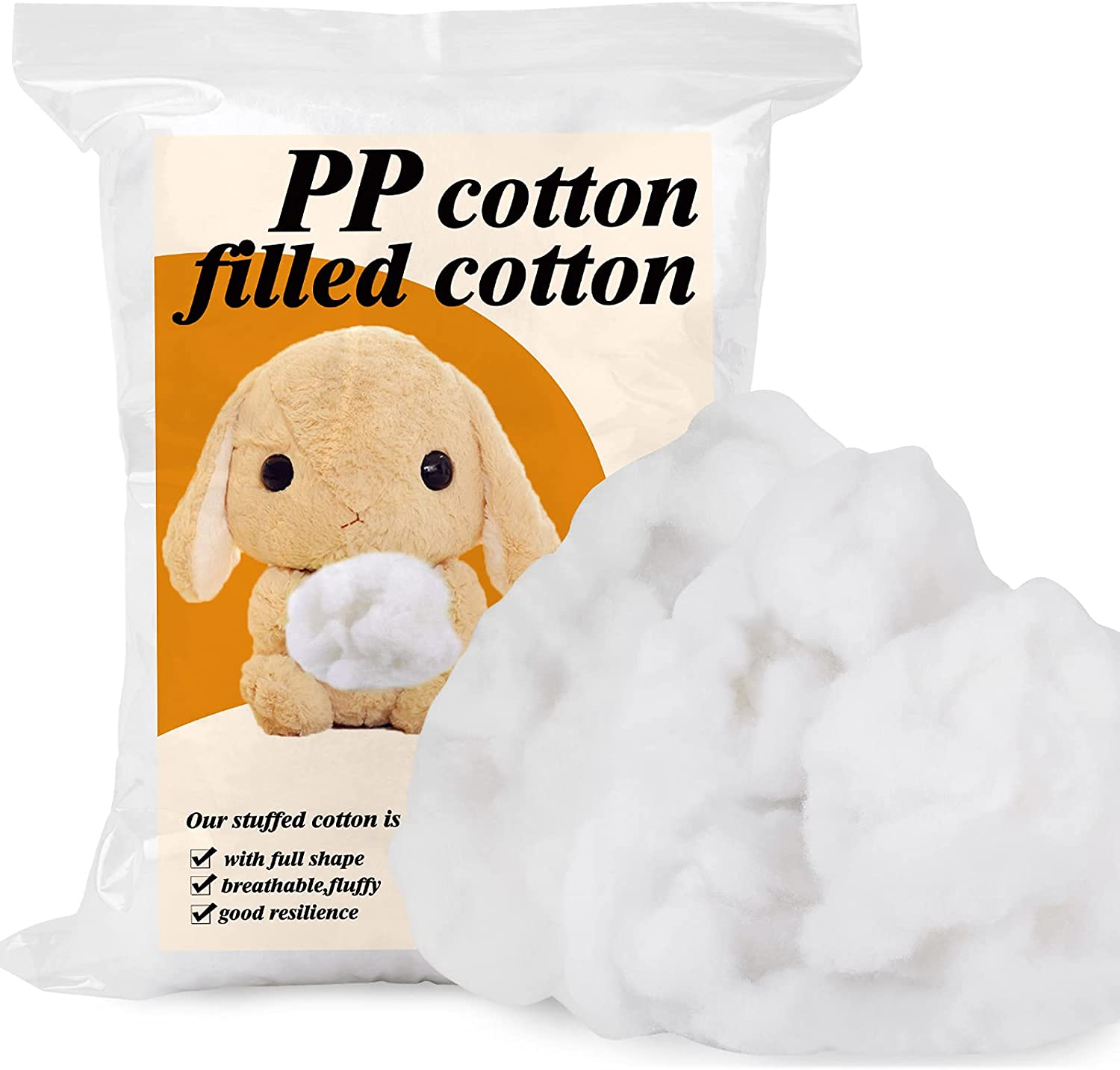350g Premium Now on sale Fiber Fill Cheap Polyest Recycled White Polyester