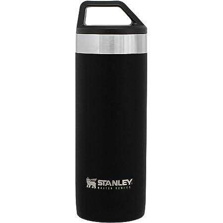 STANLEY(スタンレー) 新ロゴ マスター真空マグ 0.53L マットブラック 保温 保冷 頑丈 水筒 アウトドア 保証 02661-039 (日本正規品)