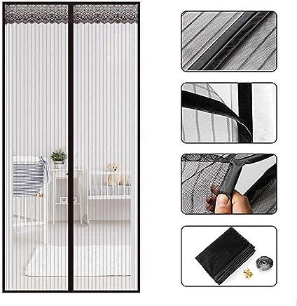 Moustiquaire de porte moustiquaire moustiquaire moustiquaire fermeture magn/étique 90 x 210 cm