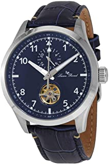 GMT Open Heart Automatic Blue Dial Men's Watch 1295A2