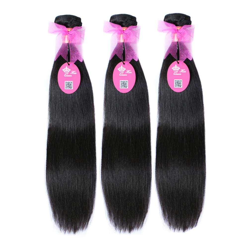 Brazilian Virgin Human Straight Hair safety Max 46% OFF Unprocessed 100% Hum