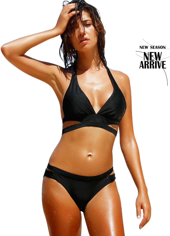Brilliant firm Frau Bikini Badeanzug sexy große Brust Badeanzug Dreieck Brust sammeln Kleider (Größe   M) B07B3R3XCG  Räumungsverkauf