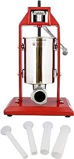 7Penn Vertical Meat Stuffer – 3L Sausage Stuffer Machine with Vertical Stuffer Nozzles, Manual Sausage Press Machine