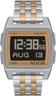 Base Men's Retro Style Smart Watch (38mm. Digital Face/Stainless Steel Band)
