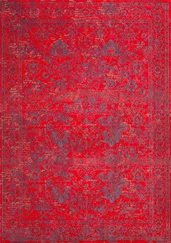 CAP Carpets & Plaids 4390 Allegro Sangue Rosso 170x240 cm Teppich, Stoff, 170x240, 170 x 240 x 1 cm