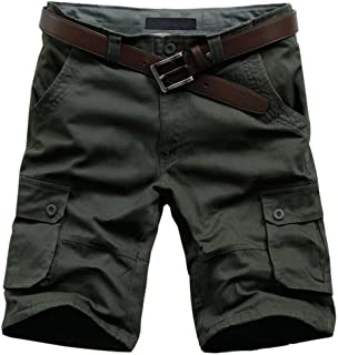 7041d0b8a3 MUST WAY Men's Plus Size Relaxed Fit Casual Cotton Cargo Shorts