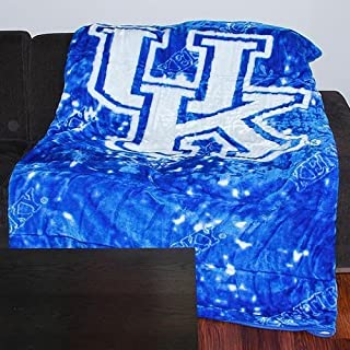 College Covers Kentucky Wildcats Throw Blanket/Bedspread by College Covers