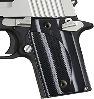 Cool Hand Sig Sauer P938 G10 Grips with Classic Diamond Cut