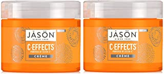Ester-C Anti-Aging Cream Moisturizer (Pack of 2) With Cocoa Seed Butter, Sunflower Seed, Shea Butter, Aloe Vera, Safflower, Matricaria Flower, Linalool, Bisabolol and Allantoin, 2 oz. each
