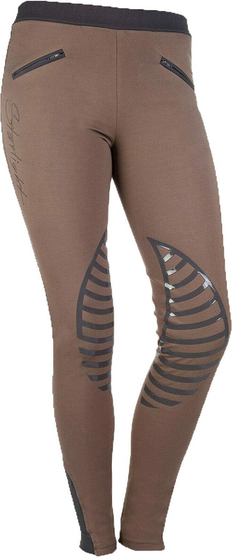 HKM Starlight Pantaloni Bambina Reitleggings Silikon-kniebesatz