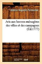 Avis aux bonnes ménagères des villes et des campagnes (Éd.1777)